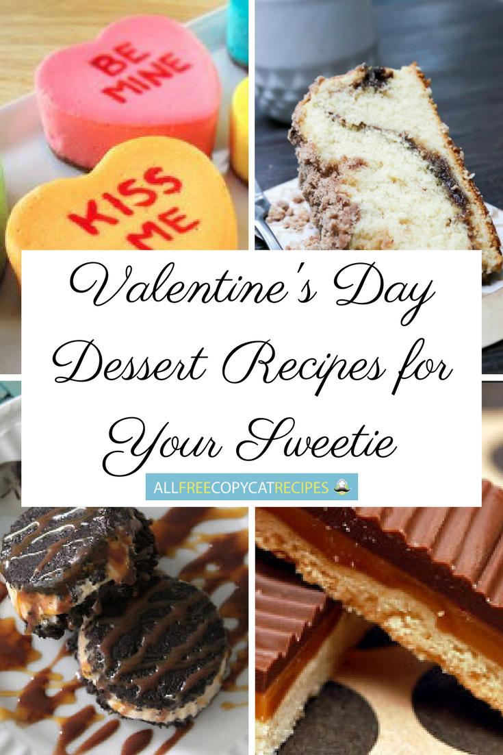 20+ Valentine's Day Dessert Recipes for Your Sweetie ... |Valentines Day Dessert Ideas