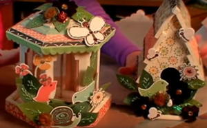 Decoupage Birdhouses Video