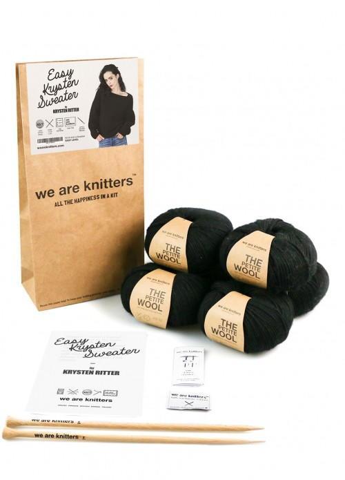 Easy Krysten Ritter Sweater Kit Allfreeknitting Com