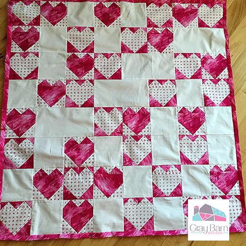 Heartland Modern Quilt Pattern | FaveQuilts com