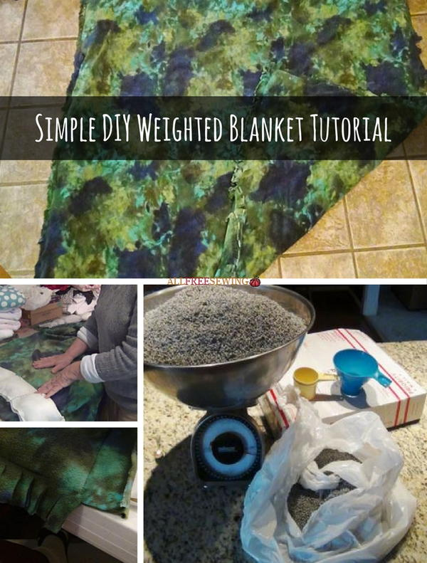 Weighted Blanket Sewing Pattern and Tutorial