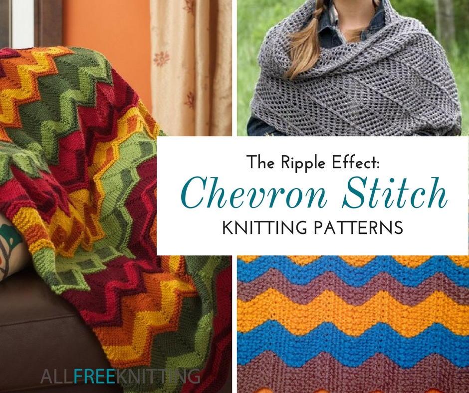 25 Free Chevron Stitch Knitting Patterns  11416a9fe338