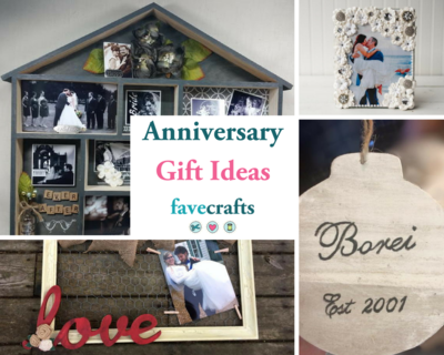 Cute DIY Anniversary Gifts for Him or Her
