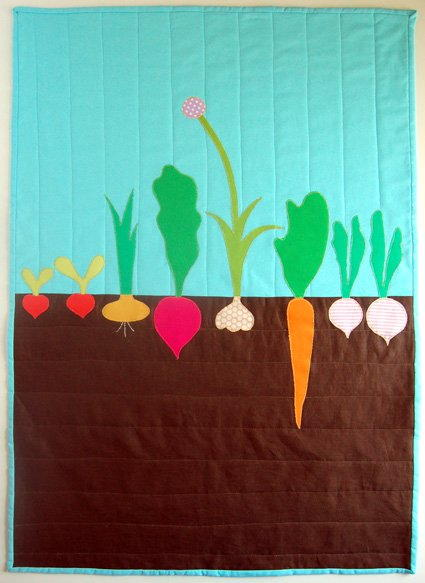 Vegetable Garden Quilt Favequilts Com