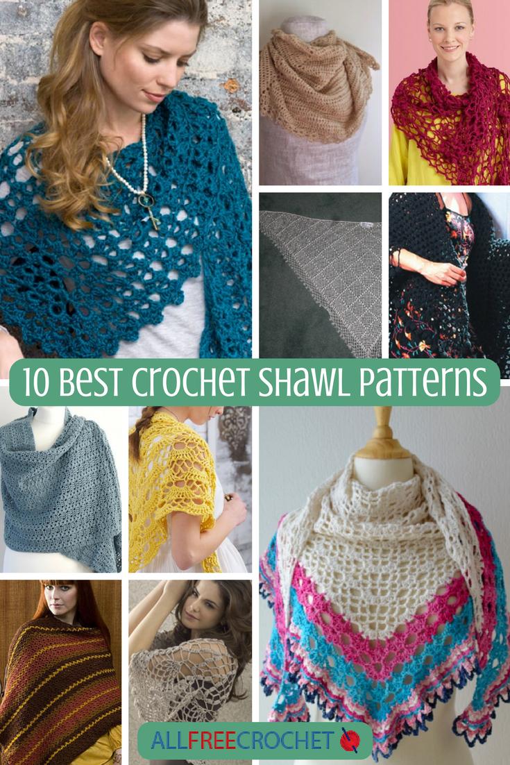 10 Best Crochet Shawl Patterns Allfreecrochet