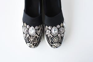 DIY Jeweled Shoes