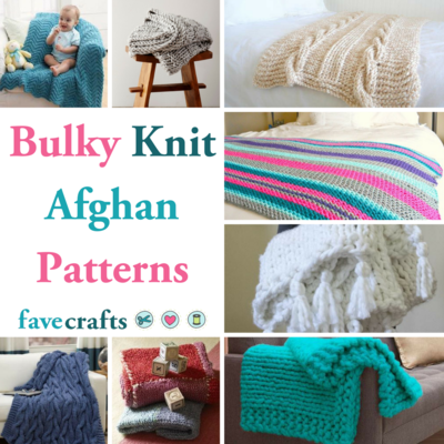 27 Bulky Knit Afghan Patterns