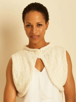 Button Shrug Knitting Pattern