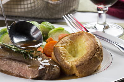 British Yorkshire Pudding