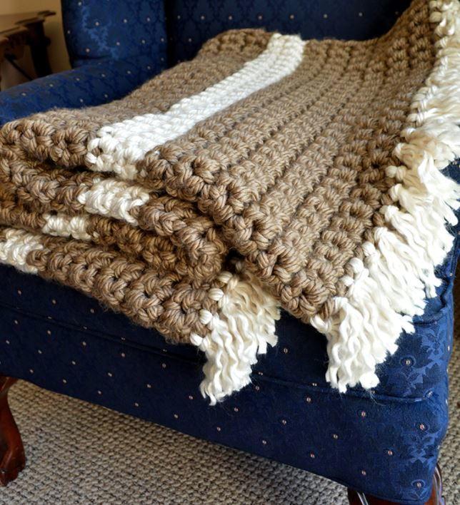 Mega Bulky Yarn Crochet Blanket ExtraLarge700 ID 2643093