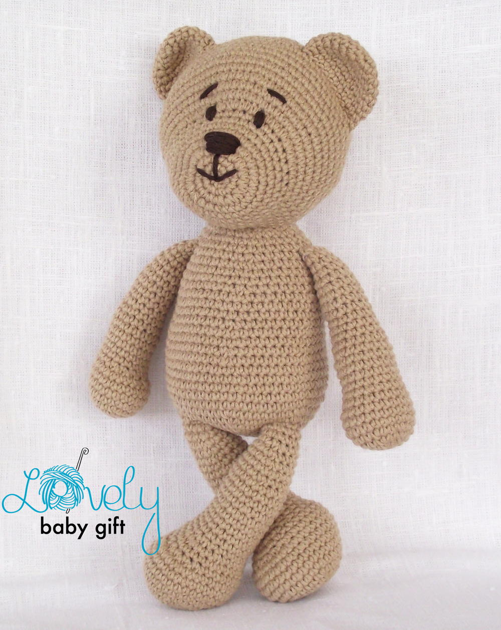FREE Crochet Pattern for a Cute Teddy Bear | Crochet teddy bear ... | 1259x1000