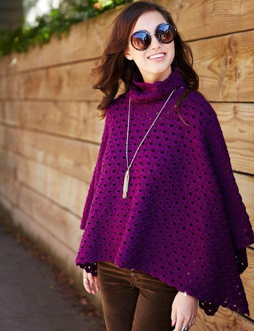 Perfectly Panache Chic Poncho