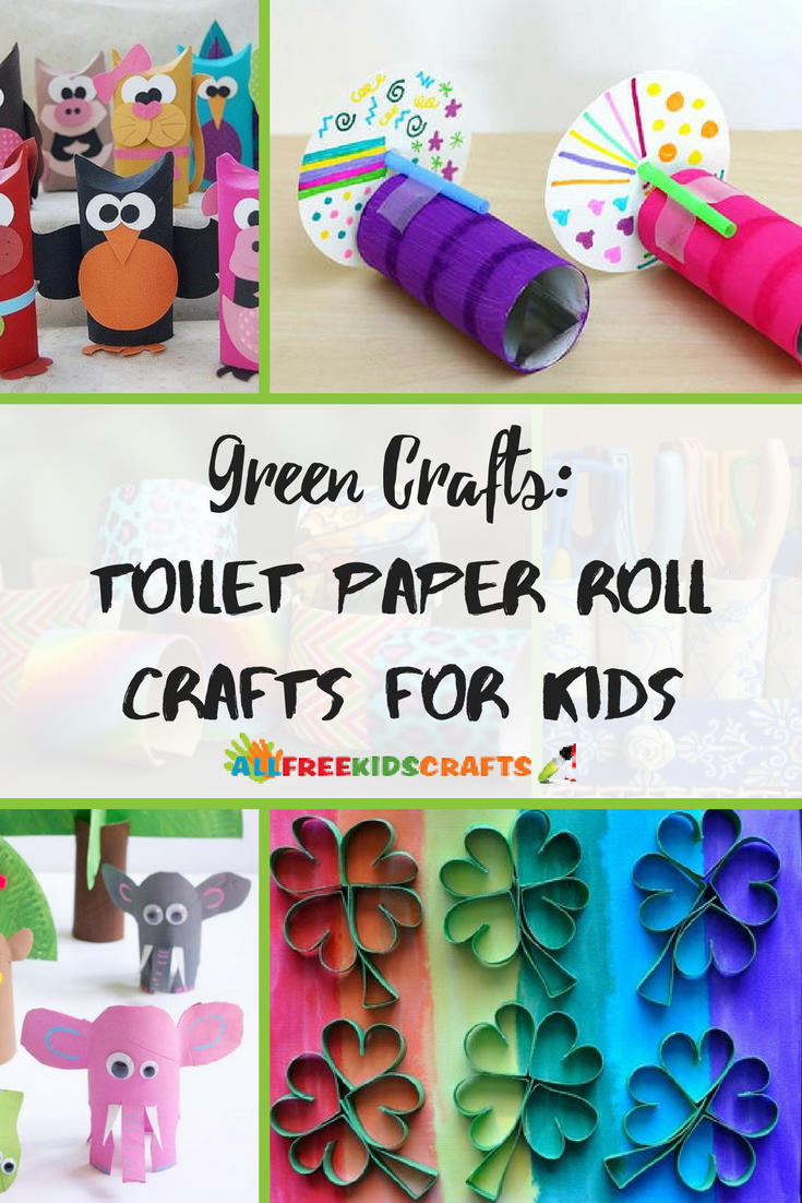 tissue roll art for kids