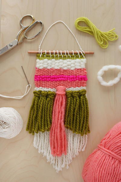 Spring Fling Woven Wall Decor