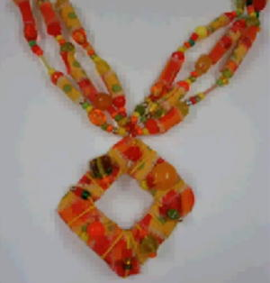 Plastic Water Bottle Pendant and Necklace Video