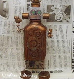 Plastic Bottle Robot
