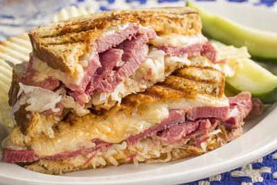 Grilled Reuben Supreme