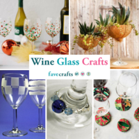 Wine Glass Crafts: 20+ Projects and Accessories