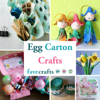 32 Egg Carton Crafts