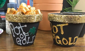 Pot O' Gold Clay Pot Craft