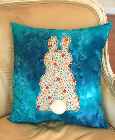 Easter Bunny Butt Pillow