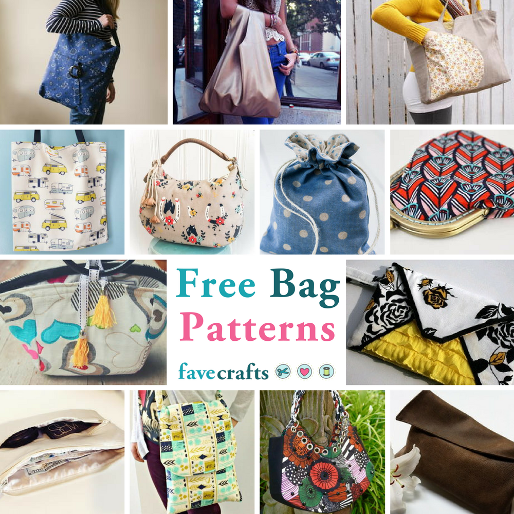 Sewing Patterns For Purses Tote Bags