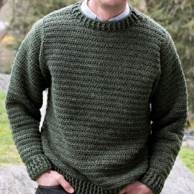 ebad33e7b0af9d Simple Sweater for Him