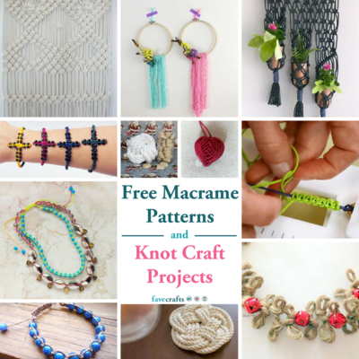 22 Free Macrame Patterns and Knot Craft Projects
