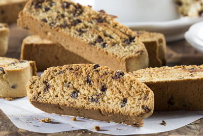 Banana-Chocolate Chip Biscotti
