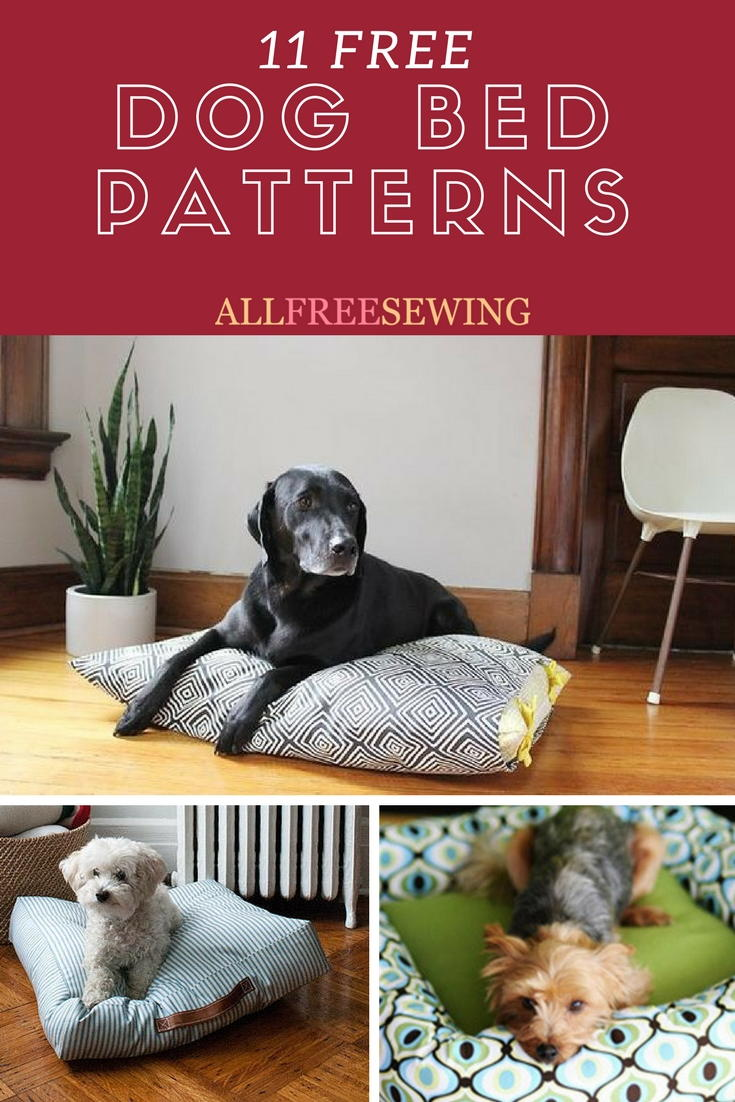Outstanding 10 Free Dog Bed Patterns Printable Patterns And More Short Links Chair Design For Home Short Linksinfo