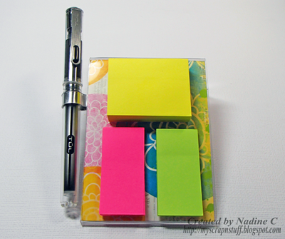 Easy DIY Sticky Notepad Holders