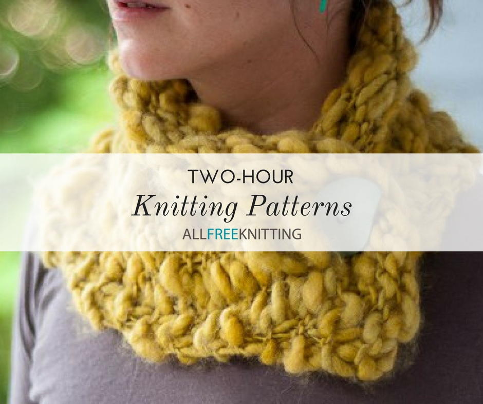 30 Two-Hour Knitting Patterns