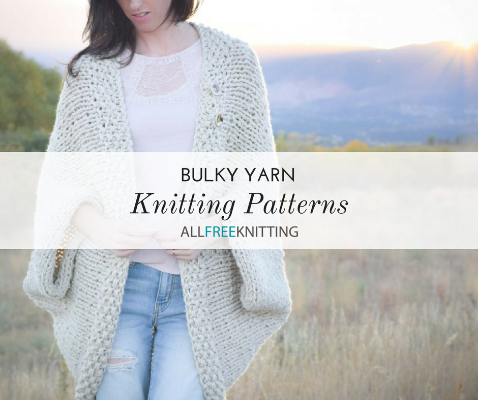 9cc64af9c2670a 52 Bulky Yarn Knitting Patterns