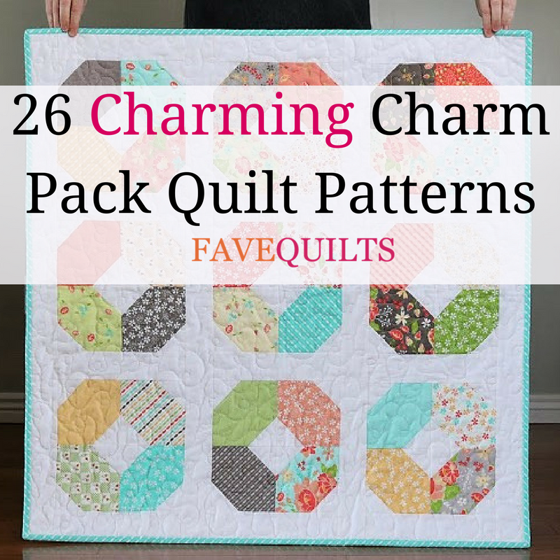26 Charming Charm Pack Quilt Patterns Favequilts Com