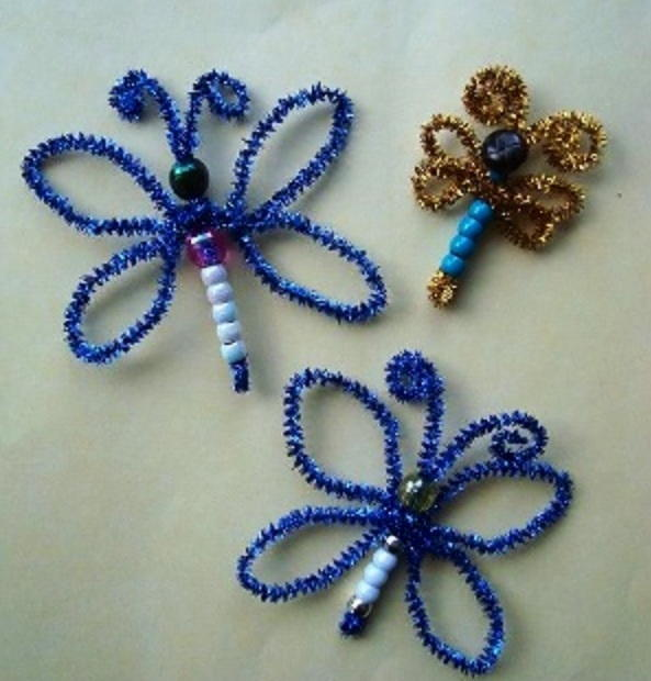 Pipe Cleaner Butterflies