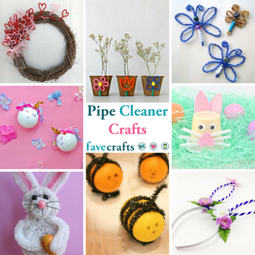 21 Incredible Pipe Cleaner Crafts for Kids and Adults