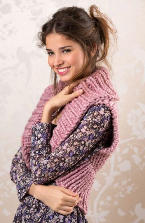 Cozy Knit Shrug Pattern Allfreeknitting Com