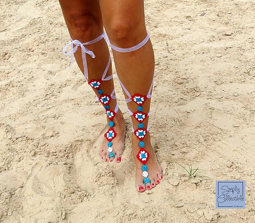 7e7ed61f423f Not Granny s Gladiator Barefoot Sandals