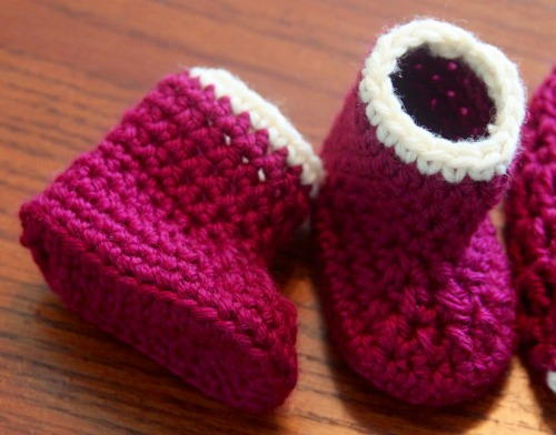 45cf7a00e5fa4 50 Minute Baby Booties