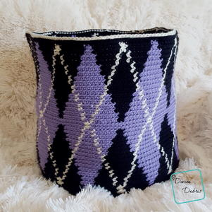 Big Argyle Basket