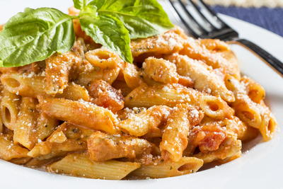 Chicken Penne Pasta With Vodka Sauce