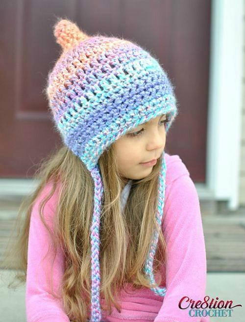 Unique Pixie Bonnet Style Hat  b2b3a967c50
