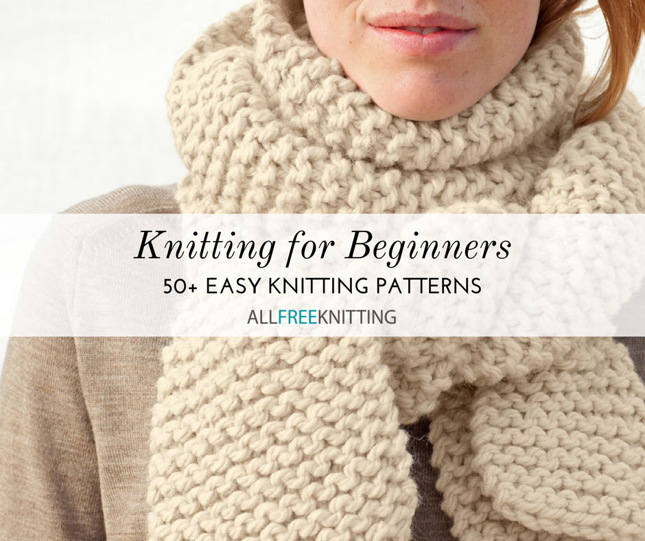 f89c5b1aba Knitting for Beginners  50+ Easy Knitting Patterns