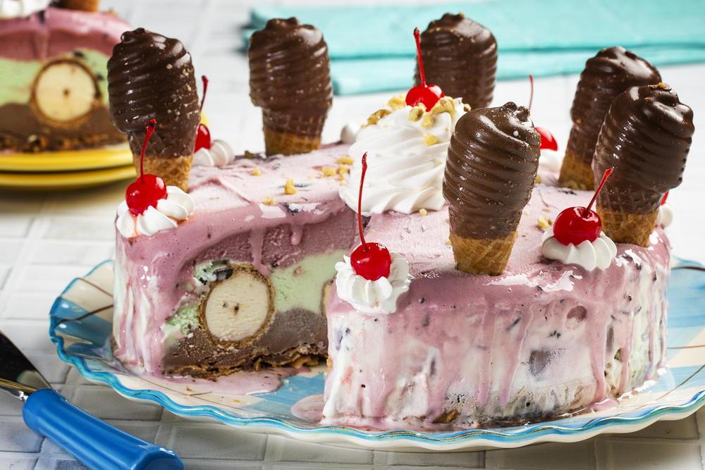 Crazy Good Ice Cream Cake