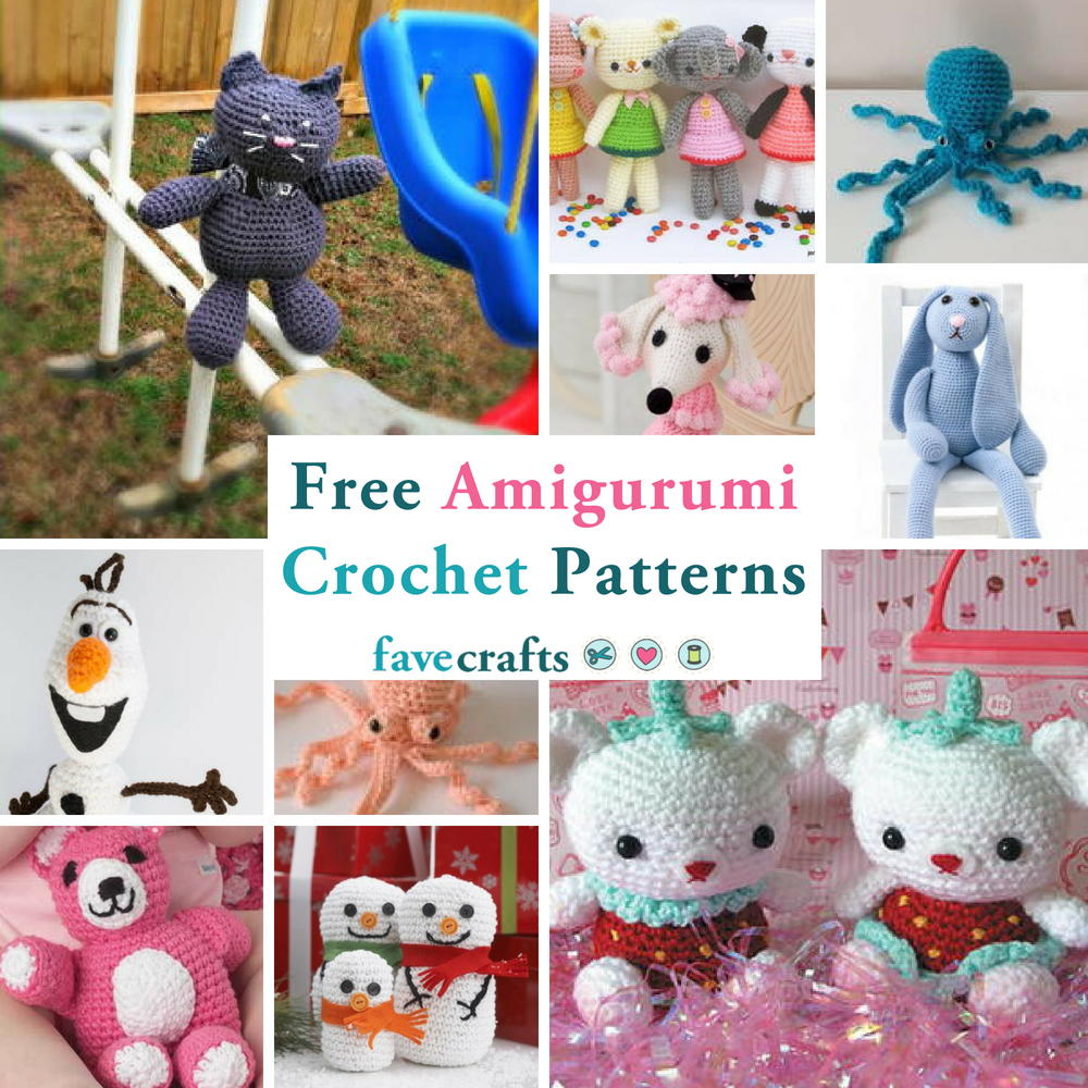 19 Free Amigurumi Crochet Patterns | AllFreeCrochet.com | 1000x1000