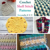 31 Crochet Shell Stitch Patterns You'll Love