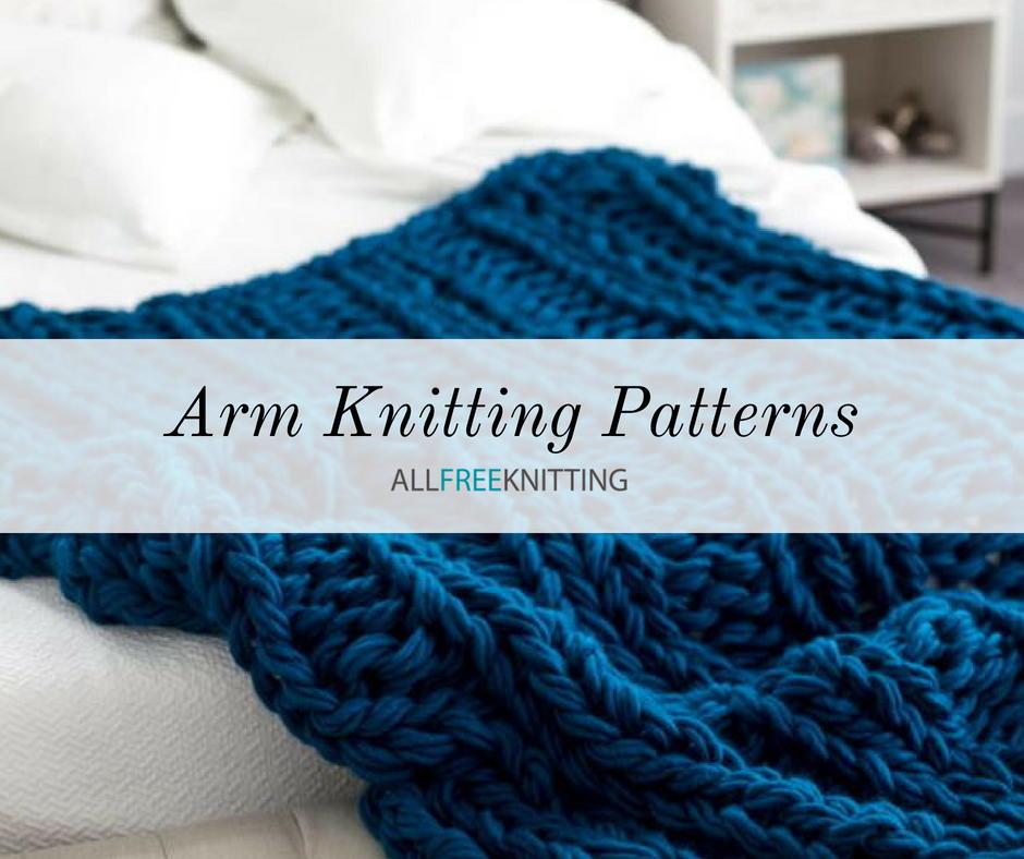 15 Simple Arm Knitting Patterns (Free) | AllFreeKnitting.com