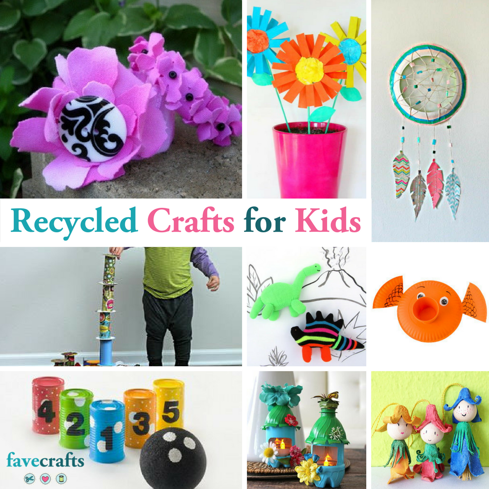 54 Recycled Crafts For Kids Favecrafts Com