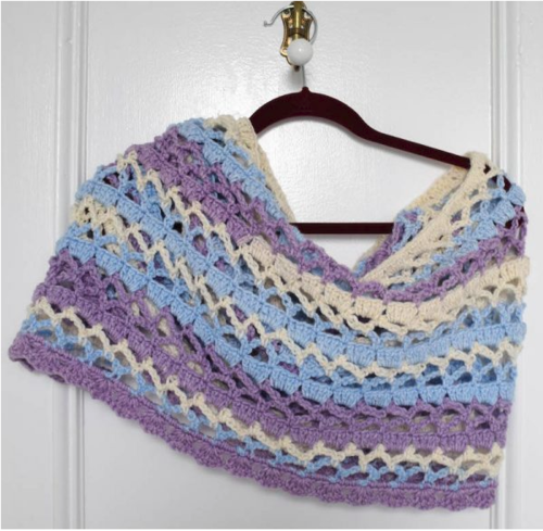 Stormy Isle Prayer Shawl Pattern