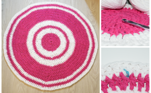 Crochet a Beautiful Area Rug
